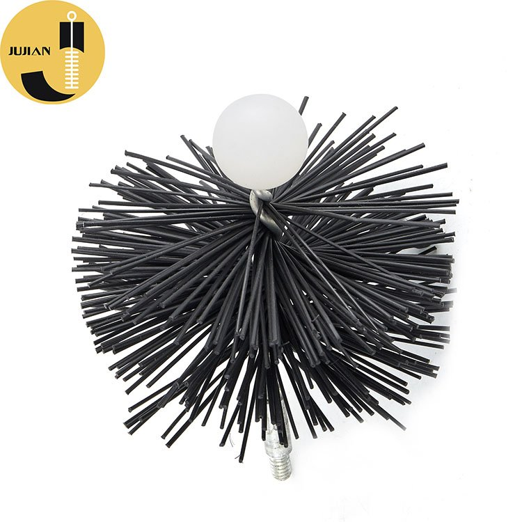 C10 Black Color Pellet Stove Cleaning Brush